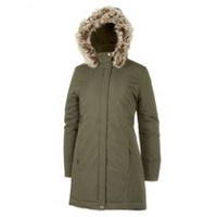 George Women's Hooded Parka Green L