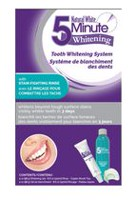 Méthode de blanchiment des dents Natural White 5 Minute Whitening