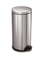 simplehuman Studio 30 L Round Step Trash Can