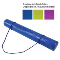 CAP Barbell Yoga Mat with Carry Strap, 3mm