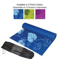 CAP Barbell Premium Printed Yoga Mat with Mesh Bag, 5mm