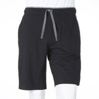 George Men's Cotton Sleep Shorts Black S