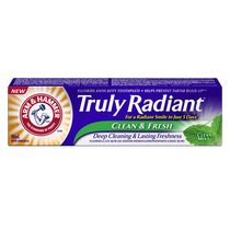 ARM & HAMMER™ Truly Radiant™ Clean & Fresh Fluoride Anti-cavity Toothpaste