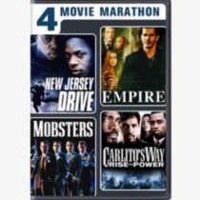 4 Movie Marathon: Crime Thriller Collection - New Jersey Drive / Empire / Mobsters / Carlito's Way: Rise To Power