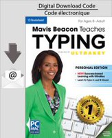 PC/MAC Mavis Beacon Teaches Typing Powered by UltraKey - Personal Edition