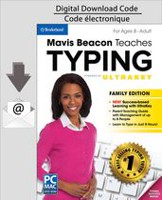 PC/MAC Mavis Beacon Teaches Typing Powered by UltraKey - Family Edition