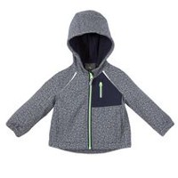 Athletic Works Toddler Boys' Hooded Jacket Grey 3T