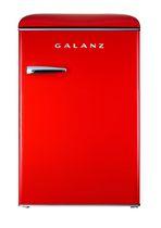 Galanz 3.1 cu. Ft. Retro Upright Freezer