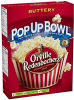 Orville® Buttery Microwave Popcorn