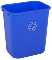 Continental Medium Recycling Waste Receptacle Bin