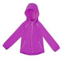 Athletic Works Girls' Hooded Jacket Purple XS