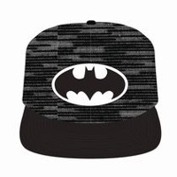 09fad0abb22 Batman Men s Space Dye Print Adjustable Cap