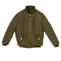 George Girls' Bomber Jacket Olive M