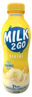 MILK 2 GO Banana Blast Partly Skimmed Milk