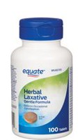 Equate Gentle Formula Herbal Laxative