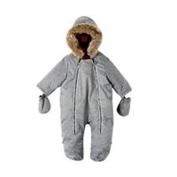 Canadiana Newborn Unisex Pram Suit Grey 6-12 months