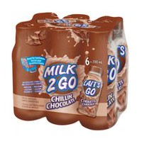 MILK 2 GO Chillin' Chocolate Milk 6x200ml