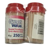 Great Value Round Toothpicks