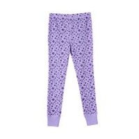 Athletic Works Girls' Printed Thermal Pants L