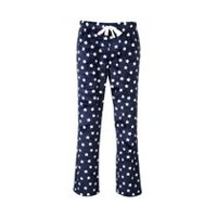 George Women's Plush Pyjama Pants Navy M