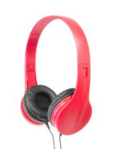 Wicked Audio Kove Mic On-Ear Headphones Red