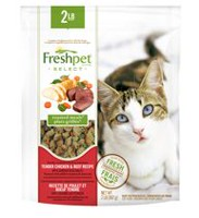 Freshpet Select Roasted Meals Tender Chicken & Beef Recipe Cat Food