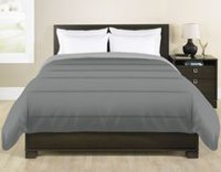 Grey Label Reversible Grey Comforter Twin