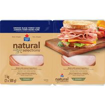 Maple Leaf® Natural Selections™ Black Forest Ham Club Pack