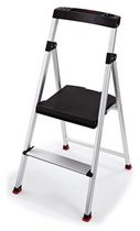 Rubbermaid 3-Step Steel Step Stool with Tray | Walmart.ca