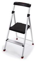 Rubbermaid 2-Step Aluminum Step Stool