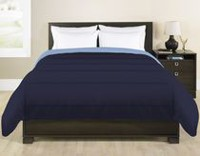 Grey Label Reversible Navy Comforter Twin