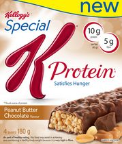 Kellogg's Special K* Protein* Bars - Peanut Butter Chocolate, 180 g