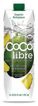 Coco Libre Organic Coconut Water with Pineapple 1 L