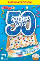 Kellogg's Pop Tarts Pastries Frosted Confetti Cupcake