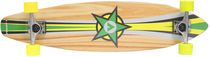 Airwalk 36-inch Longboard Wood Grain Skateboard