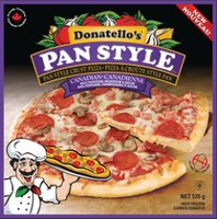 Pizza à croûte de style pan canadienne de Donatello's