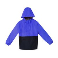 George Boys' Popover Wind Breaker True Black M