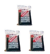 3 sacs de granules Competition Blend/Charwood au cerisier/Charwood au noyer (20lb par sac)