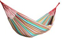 Vivere Brazilian Style Double Hammock multi-colored