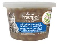 Freshpet Select Chicken & Ocean Whitefish Cat Food