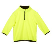 Athletic Works Boys' Popover Fleece Sweater Yellow S/P