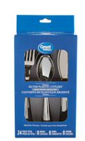 Great Value 24-Piece Assorted Cutlery Set