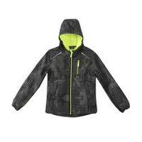 Athletic Works Boys' Bonded Jacket True Black M