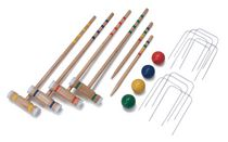 EastPoint 4 Player Sports Croquet Set