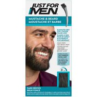 Just For Men Mustache & Beard M-45 Dark Brown Brush-in Colour Gel