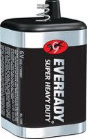 Energizer Batterie Eveready Super Heavy Duty format 6V