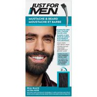 Just For Men Mustache & Beard M-55 Real Black Brush-In Colour Gel