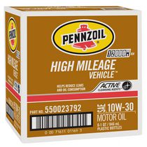 Pennzoil High Mileage Vehicle 10W30  Motor Oil