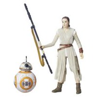 "Star Wars The Black Series 6"" Rey (Jakku) and BB-8 Action Figure"