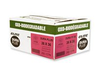 Duraplus Elite Oxo-Biodegradable Garbage Bags